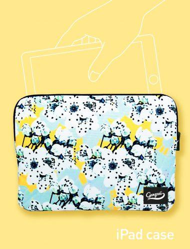 iPadケース BLUE SAKURA